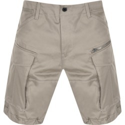 G Star Raw Rovic Loose Shorts Beige found on Bargain Bro UK from Mainline Menswear