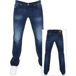 Diesel Larkee 0853R Regular Fit Jeans Blue found on Bargain Bro UK from Mainline Menswear