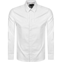 Aquascutum Batley Long Sleeve Shirt White found on MODAPINS from Mainline Menswear Australia for USD $184.70