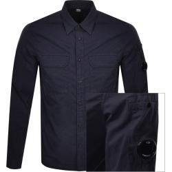 CP Company Long Sleeved Shirt Navy found on MODAPINS from Mainline Menswear Australia for USD $239.10