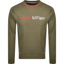Tommy Hilfiger Loungewear Logo Sweatshirt Green found on Bargain Bro from Mainline Menswear for £55