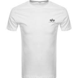 Alpha Industries Basic Logo T Shirt White found on MODAPINS from Mainline Menswear Australia for USD $35.06