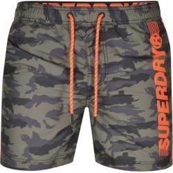 Superdry State Volley Swim Shorts Khaki found on Bargain Bro UK from Mainline Menswear