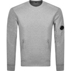 CP Company Crew Neck Sweatshirt Grey found on MODAPINS from Mainline Menswear Australia for USD $226.17