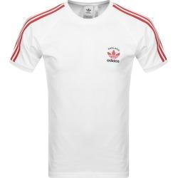 Adidas Originals 3 Stripe England T Shirt White found on Bargain Bro UK from Mainline Menswear