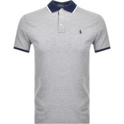 Ralph Lauren Custon Fit Polo T Shirt Grey found on Bargain Bro UK from Mainline Menswear