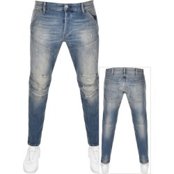G Star Raw 5620 3D Slim Jeans Blue found on Bargain Bro UK from Mainline Menswear