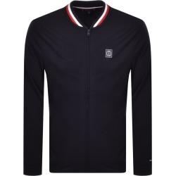 Tommy Hilfiger Full Zip Bomber Sweatshirt Navy found on Bargain Bro UK from Mainline Menswear