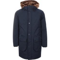 Emporio Armani Hooded Parka Jacket Navy found on Bargain Bro UK from Mainline Menswear