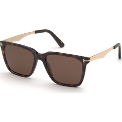 Tom Ford FT0862 52E Sunglasses Brown found on Bargain Bro UK from Mainline Menswear