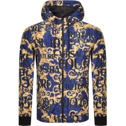 Versace Jeans Couture Print Jacket Blue found on Bargain Bro UK from Mainline Menswear