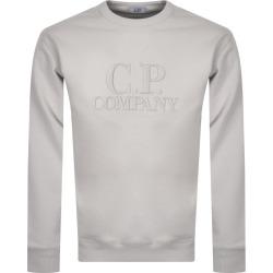 CP Company Logo Neck Sweatshirt Grey found on MODAPINS from Mainline Menswear Australia for USD $209.37