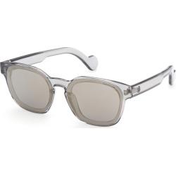 Moncler ML0086 Sunglasses Grey found on Bargain Bro UK from Mainline Menswear
