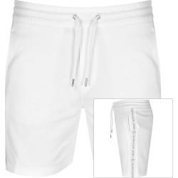 Calvin Klein Jeans Jacquard Logo Shorts In White found on Bargain Bro UK from Mainline Menswear