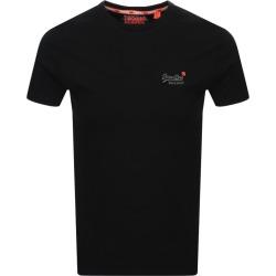Superdry Vintage Short Sleeved T Shirt Black found on Bargain Bro UK from Mainline Menswear