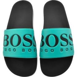 BOSS Athleisure Solar Sliders Blue found on Bargain Bro UK from Mainline Menswear