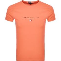 Tommy Hilfiger Logo T Shirt Orange found on Bargain Bro UK from Mainline Menswear