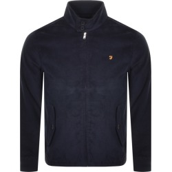 Farah Vintage Bowie Cord Harrington Jacket Navy found on MODAPINS from Mainline Menswear Australia for USD $166.94