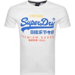 Superdry Vintage Logo T Shirt White found on Bargain Bro UK from Mainline Menswear