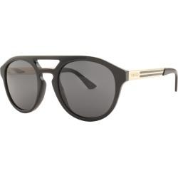 Gucci GG0689S Sunglasses Black found on Bargain Bro UK from Mainline Menswear