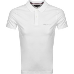 Tommy Hilfiger Clean Slim Polo T Shirt White found on Bargain Bro UK from Mainline Menswear