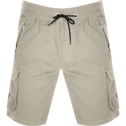 Calvin Klein Logo Cargo Shorts Beige found on Bargain Bro UK from Mainline Menswear