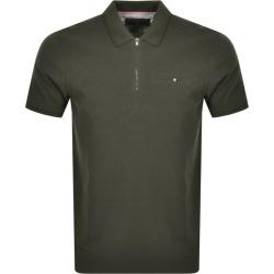 Ted Baker Dodgem Textured Polo T Shirt Khaki found on Bargain Bro UK from Mainline Menswear