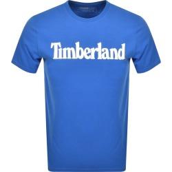 Timberland Crew Neck Logo T Shirt Blue found on Bargain Bro UK from Mainline Menswear