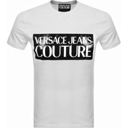 Versace Jeans Couture Logo T Shirt White found on Bargain Bro UK from Mainline Menswear