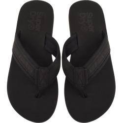 Superdry Premium Flip Flops Black found on Bargain Bro UK from Mainline Menswear
