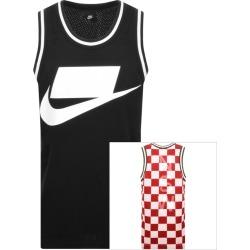 Nike Sportswear Logo Vest T Shirt Black