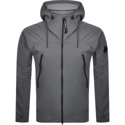 CP Company Goggle Hood Overshirt Jacket Grey found on MODAPINS from Mainline Menswear Australia for USD $439.68