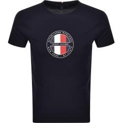 Tommy Hilfiger Logo T Shirt Navy found on Bargain Bro UK from Mainline Menswear
