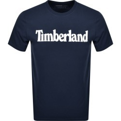 Timberland Crew Neck Logo T Shirt Navy found on Bargain Bro UK from Mainline Menswear