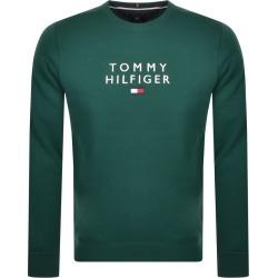 Tommy Hilfiger Crew Neck Sweatshirt Green found on Bargain Bro UK from Mainline Menswear