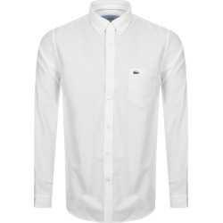 Lacoste Long Sleeved Shirt White found on Bargain Bro UK from Mainline Menswear