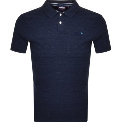Superdry Classic Polo T Shirt Navy found on Bargain Bro UK from Mainline Menswear