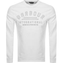 Barbour International Pedal Logo T Shirt White found on Bargain Bro UK from Mainline Menswear
