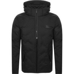 Superdry Echo Quilted Puffer Jacket Black found on Bargain Bro UK from Mainline Menswear