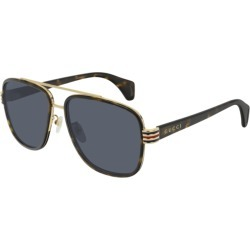 Gucci GG044S 004 Sunglasses Brown found on Bargain Bro UK from Mainline Menswear