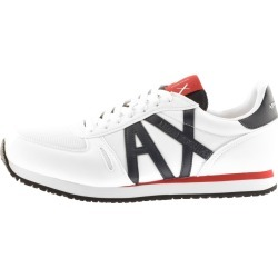 Armani Exchange Logo Trainers White found on Bargain Bro UK from Mainline Menswear