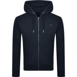Superdry Orange Label Full Zip Hoodie Navy found on Bargain Bro UK from Mainline Menswear