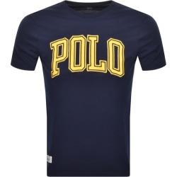 Ralph Lauren Logo T Shirt Navy found on Bargain Bro UK from Mainline Menswear