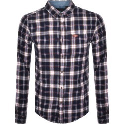 Superdry Lumberjack Long Sleeved Shirt Navy found on Bargain Bro UK from Mainline Menswear