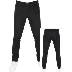 HUGO 734 Skinny Fit Jeans Black found on Bargain Bro UK from Mainline Menswear