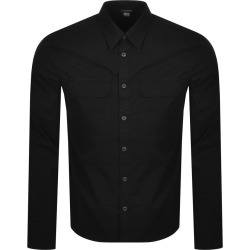 CP Company Long Sleeved Shirt Black found on MODAPINS from Mainline Menswear Australia for USD $272.18