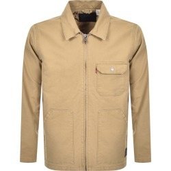Levis Waller Worker Jacket Beige found on Bargain Bro UK from Mainline Menswear