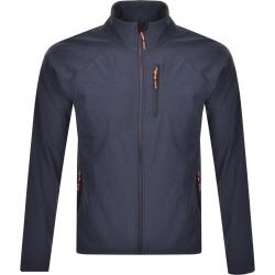 Superdry Softshell Jacket Navy found on Bargain Bro UK from Mainline Menswear