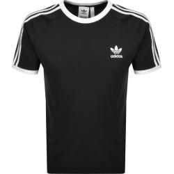 adidas Originals 3 Stripe T Shirt Black found on Bargain Bro India from Mainline Menswear Australia for $34.38