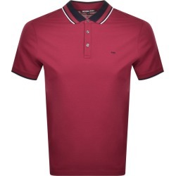 Michael Kors Multi Tipped Polo Burgundy found on Bargain Bro UK from Mainline Menswear